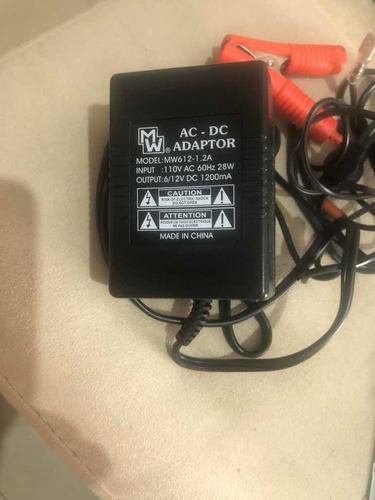 Cargador De Batería De 6v Y 12v 1.2amp Mw612