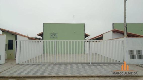 Casa Com 2 Dormitórios À Venda, 50 M² - Financiamos