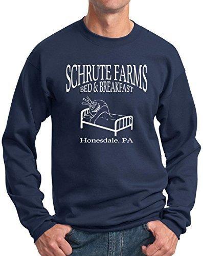 Beetwine Essentials Schrute Farms Bed Y Breakfast Sudadera C