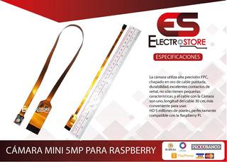 Camara Mini Smp Para Raspberry