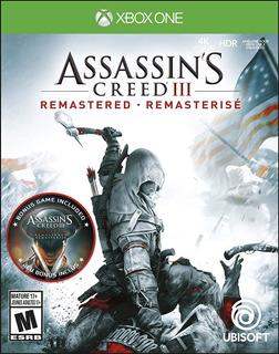 Xbox One Assasins Creed 3 Remasterizado + Dlc + Liberation