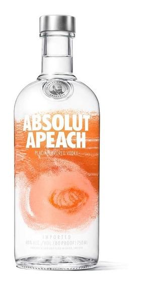 Absolut Vodka Apeach Sueca - 750ml