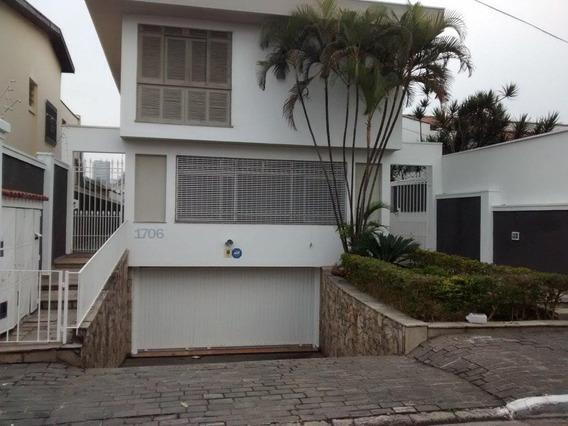 Sobrado Em Campo Belo, São Paulo/sp De 487m² 5 Quartos Para Locação R$ 10.000,00/mes - So560243