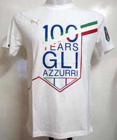 Camiseta Futebol Puma Itália 100 Anos - Rara Colecionador