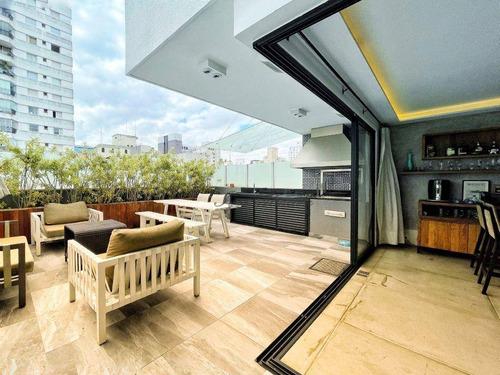 Cobertura Com 4 Dormitórios À Venda, 400 M² Por R$ 5.550.000,00 - Jardim Paulista - São Paulo/sp - Co1368