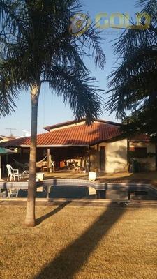 Chácara Com 4 Dormitórios À Venda, 1000 M² Por R$ 800.000 - Chácara Santa Margarida - Campinas/sp - Ch0050