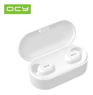 Audífonos Bluetooth Qcy T2c Qs2 Color Blanco