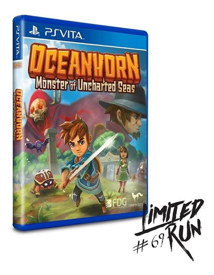 Oceanhorn Ps Vita Limited Run Midia Fisica
