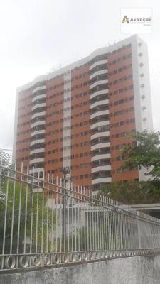 Apartamento Com 3 Dormitórios À Venda, 85 M² Por R$ 510.000 - Graças - Recife/pe - Ap0416