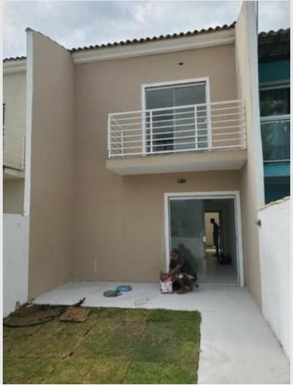 Ca0284 Casa Duplex C/3 Quartos Sendo 1 Suíte Em Cg/rj