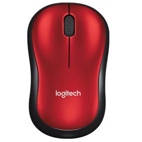 Mouse Sem Fio | M185 Vermelho | Logitech