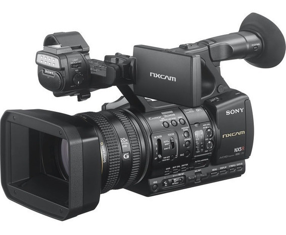 Filmadora Sony Hxr Nx5r Nx5 Garantia Sony Brasil Com Nfe