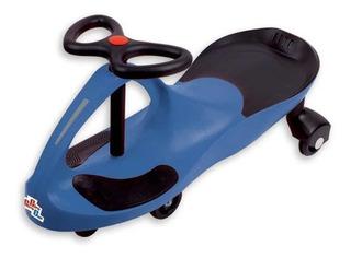 Carrinho Gira Gira Car Ecológico Rolimã Azul Crianças