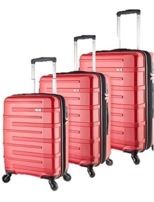 Valija Montreux Swisswin Espaciosa Set De 3 Envios Swisswin