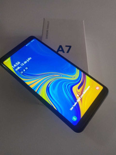 Celular Samsung A7 2018 Con Caja