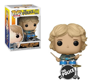 Funko Pop The Police Stewart Copeland 119 Original En Stock