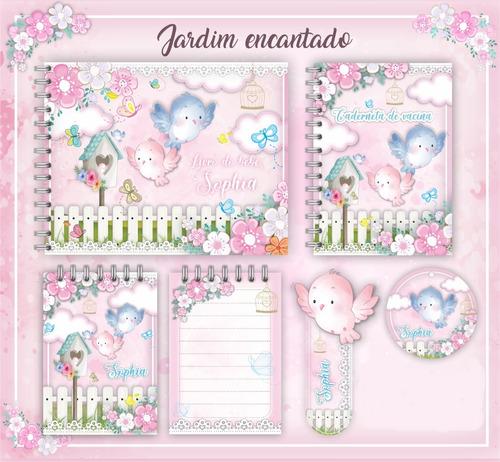 Álbum/ Livro Do Bebê Jardim 2