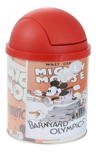 Imagem 1 de 1 de Lixeira De Mesa Disney Mickey Mouse 3 Oficial Zona Criativa