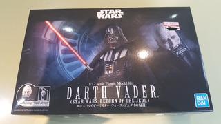 Darth Vader Bandai Model Kit Con Y Sin Casco