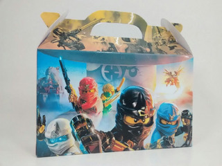 Ninjago Lego - Valijitas Golosineras - Pack X50