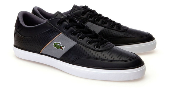 Teni Hombre Zapatilla Lacoste Court 100% Original Zapato
