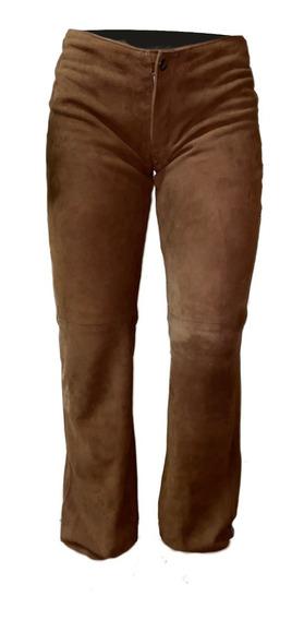 Pantalon Gamuza Cuero - Maybe -