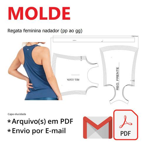 Regata Feminina Nadador (pp Ao Gg)