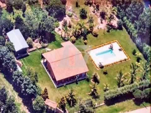 Imagem 1 de 27 de Chácara Localizada No Condomínio Estância Tamanduá Em Sta. Maria Da Serra. - Ch00100 - 68593011