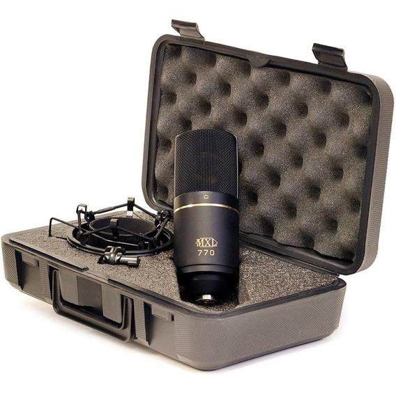 Mxl 770 Microfone Condensador Cardióide Estúdio