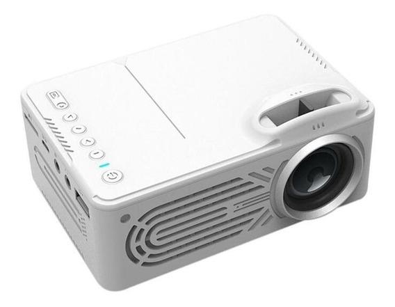 Mini Led Projetor 1080p Av Usb Tf Home Theater Media Player