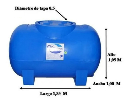 Tanque Tipo Cisterna De 1000 Litros De Agua Guarenas Guatire