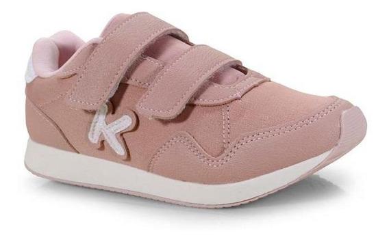 Tênis Infantil Fem. Klin Walk Rosa Antigo - 178058