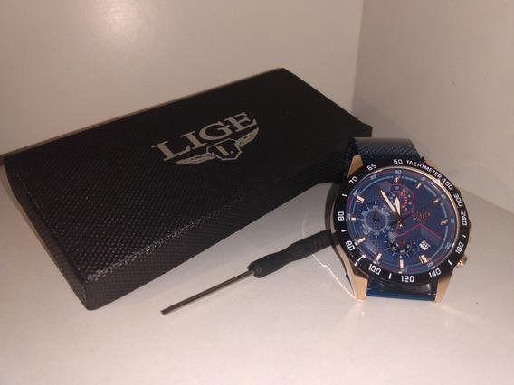 Relógio De Luxo Lige,aprovada D