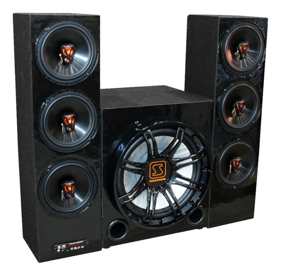 Home Theater Jbl Torre Taramps Bluetooth 2.1 Usb Sd Fm Aux