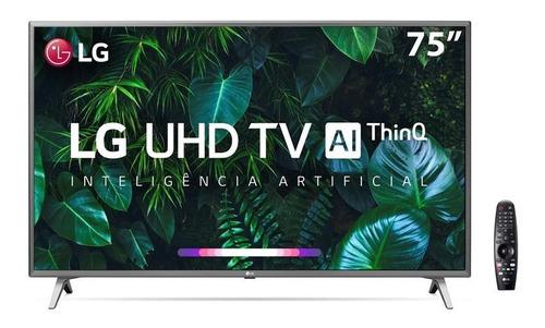 Imagem 1 de 7 de Smart Tv LG 75 75un8000 4k Uhd Wifi Bluetooth Hdr