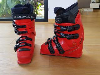 Botas Integral Ski Salomon 8 Y En 0 Snowboard Equipe Mercado thrsQd