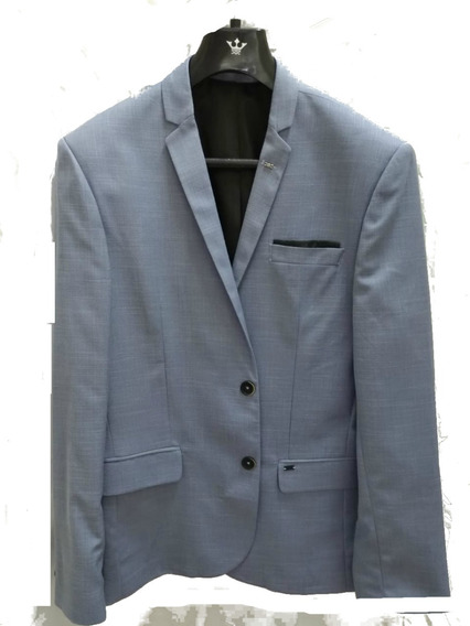 Blazer Slim Docthos Azul Claro 48, 50 - 14294