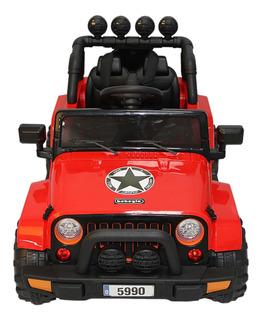 Camioneta Suv 12v Rojo Rs-5990