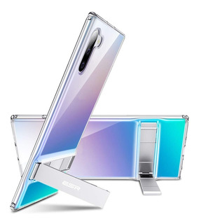 Capa Capinha Galaxy Note 10 Plus (6.8) Esr Metal Kickstand ( Com Suporte ) Case Original Transparente