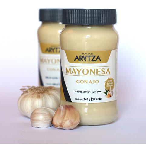 Mayonesa Natural Con Ajo - Arytza -tipo Casera - Lanzamiento