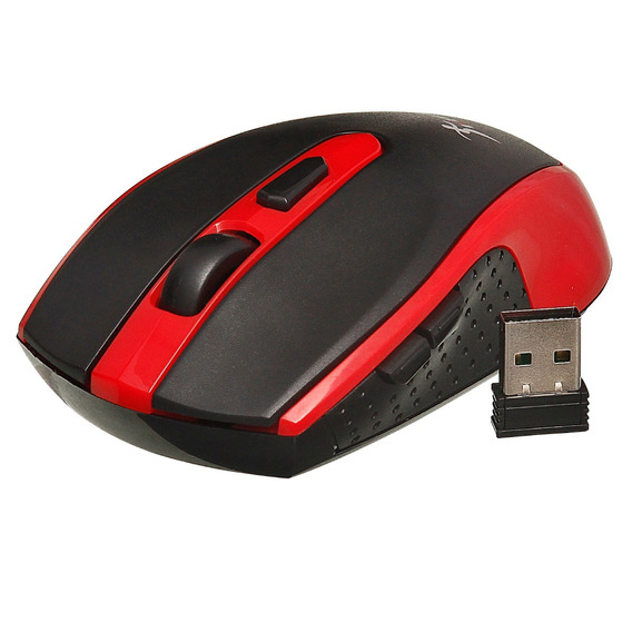Mouse Sem Fio 5 Botões 1600dpi Wireless Slim Rf 2,4ghz