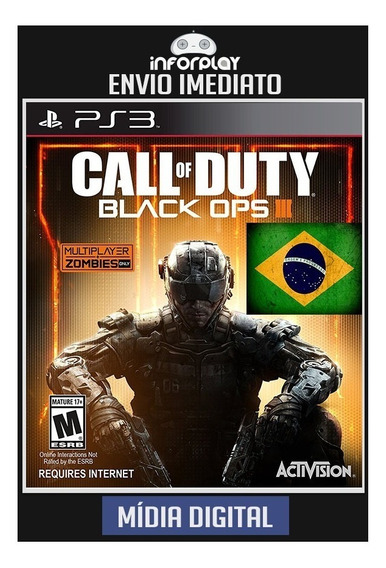 Call Of Duty Black Ops Iii 3 Pt-br Ps3 Psn Envio Imediato