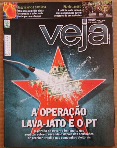 Revista Veja Nº 2403 10 Dezembro 2014 Hobbit Rio De Janeiro