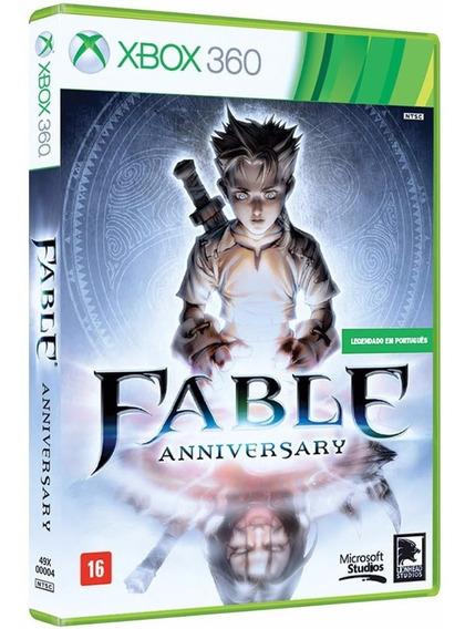 Game Xbox 360 Fable Anniversary ( Mídia Física/ Original/ Lacrado)