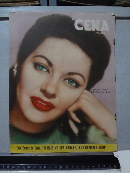 Revista A Cena Muda Nº 24 1954 Yvonne De Carlo