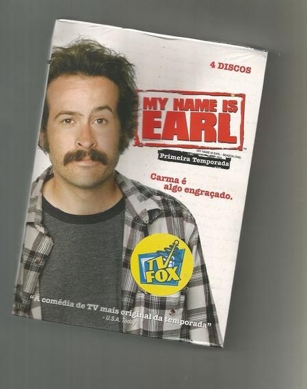 My Name Is Earl - 1ª Temporada 4 Dvds Box Lacrado