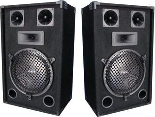 Juego 2 Bafles C/ Amplificador Entrada Rca Directo A Pc Celu