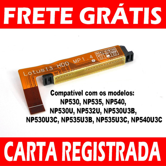 Hdd Cabo Flat Hd Ssd Ultrabook Samsung Np530 Np540 Np530u3c