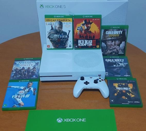 Xbox One S 1tb + 7 Jogos
