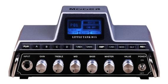 Mooer Little Tank D15 Cabezal De 15w Para Guitarra Eléctrica